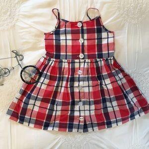 Gap Toddler Girls Plaid Sundress (3T)
